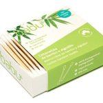 Babu   Cotonetes de bambu biodegradáveis