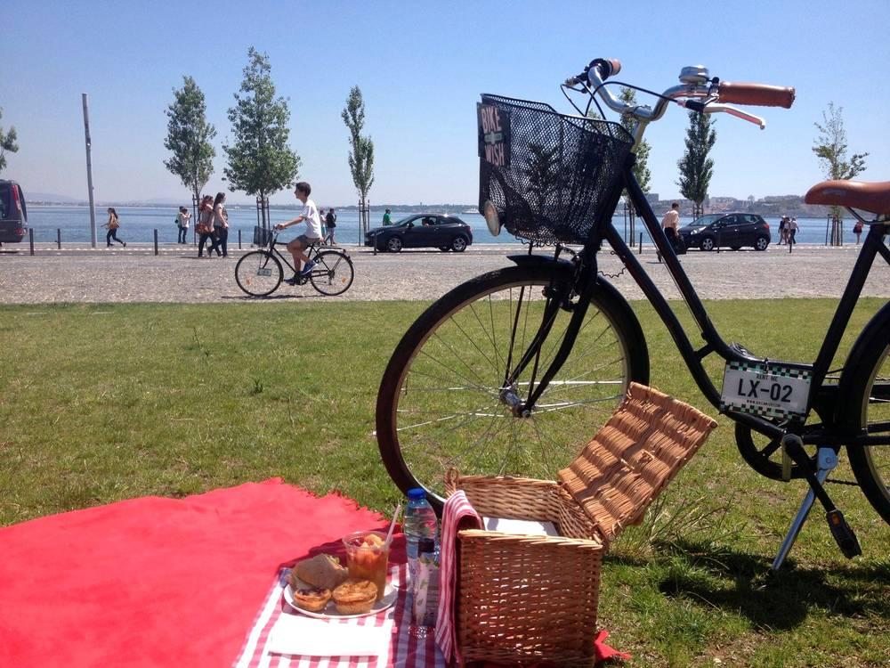 Visitar Lisboa de bicicleta