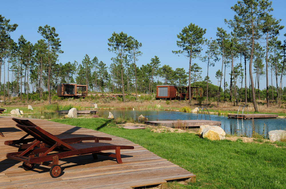 Cocoon Eco Design Lodges   sustainable tourism Portugal