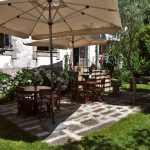 Cor de Tangerina jardim