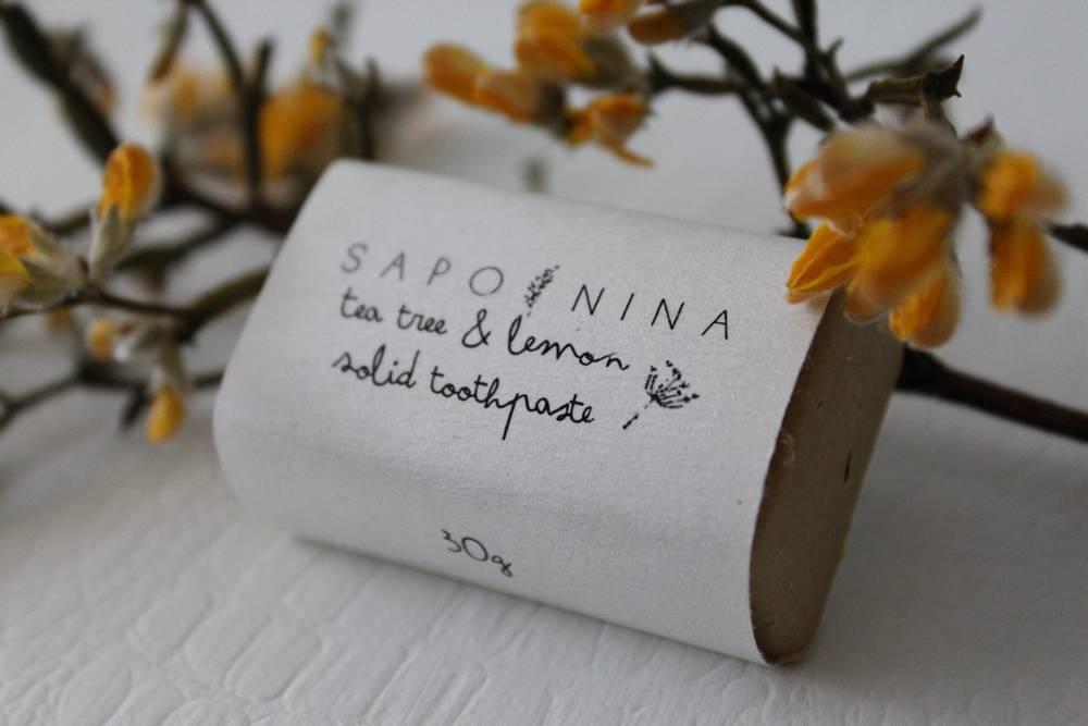 Saponina | Pasta de dentes sólida