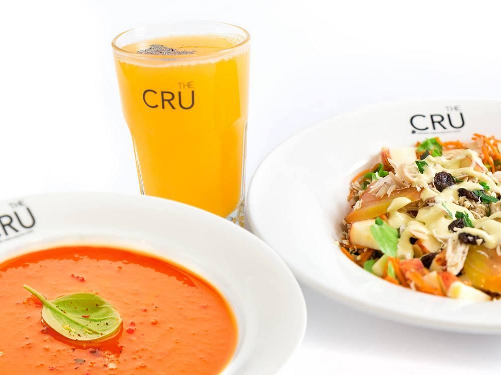 The Cru organic restaurant in Cascais